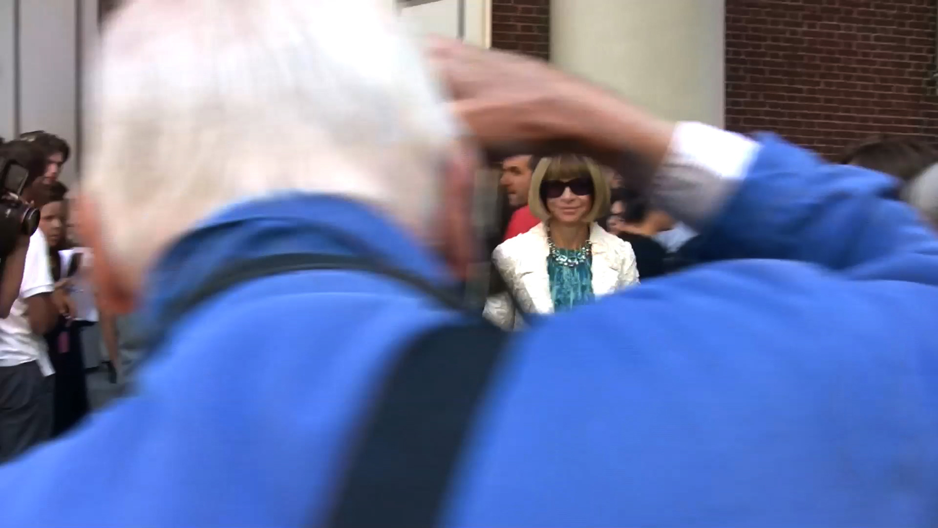 Bill Cunningham, New York photographing