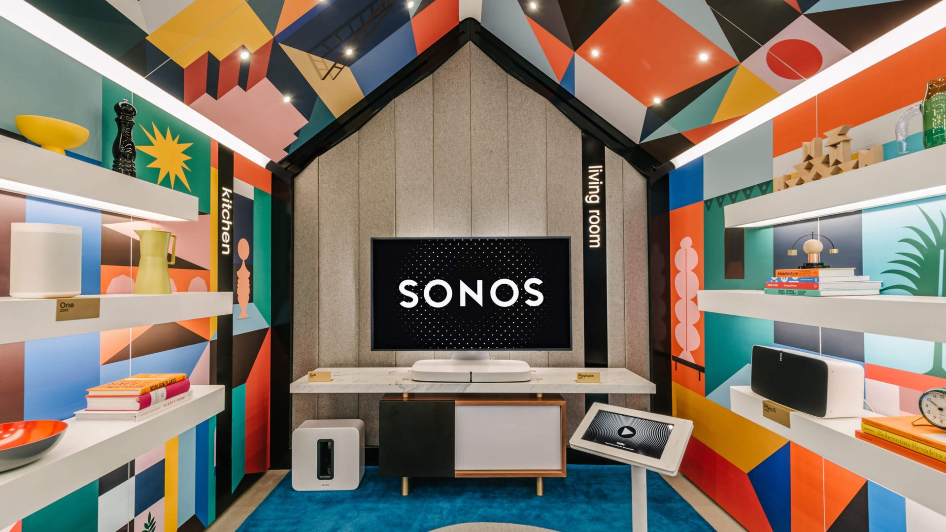 Sonos listening room 44 Flavours