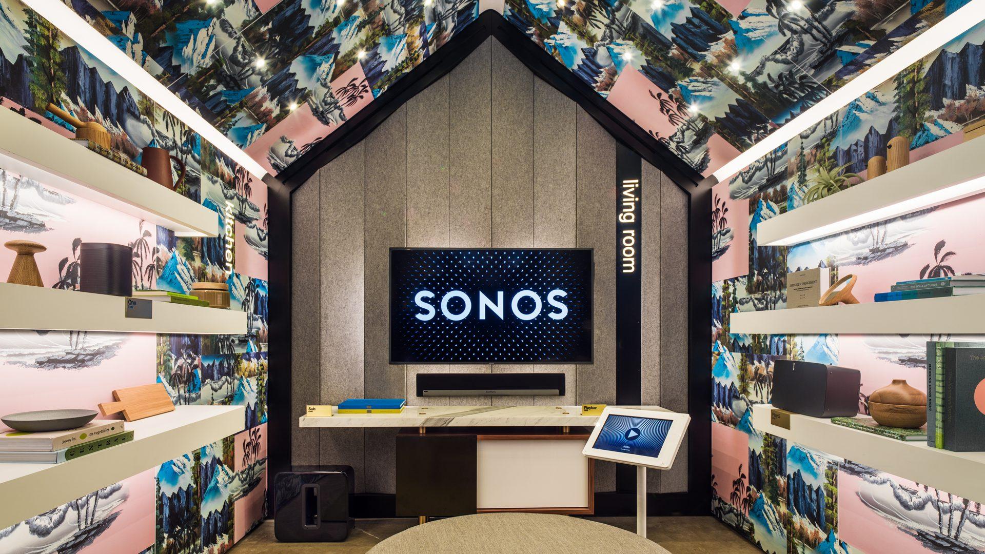 Sonos listening room