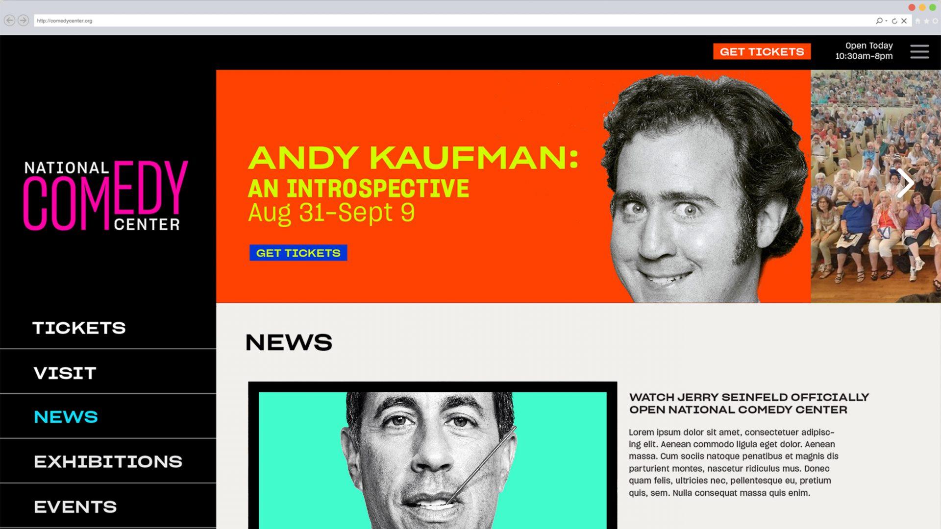 National Comedy Center website