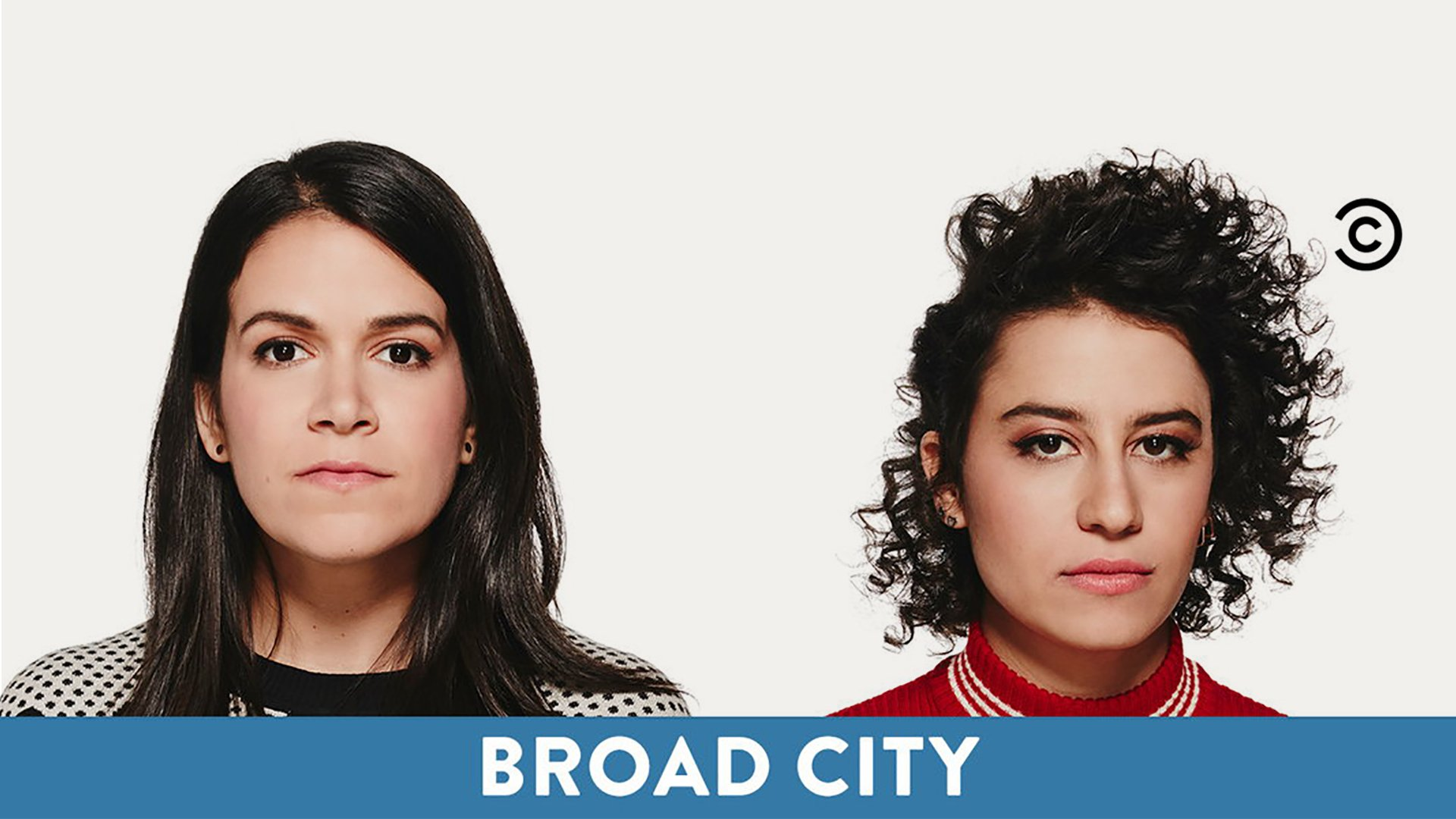 Comedy Central logo tagging Broad City
