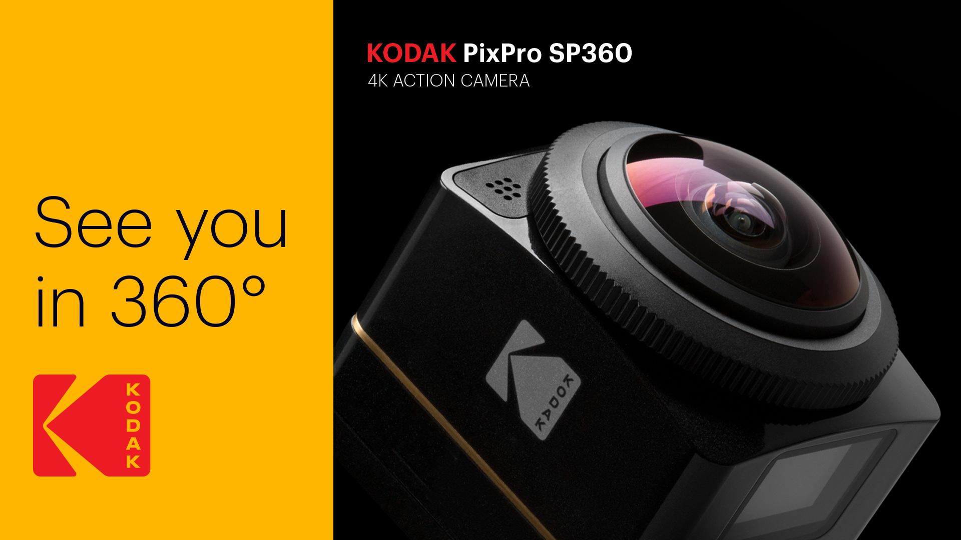 Kodak logo see you in 360 ad