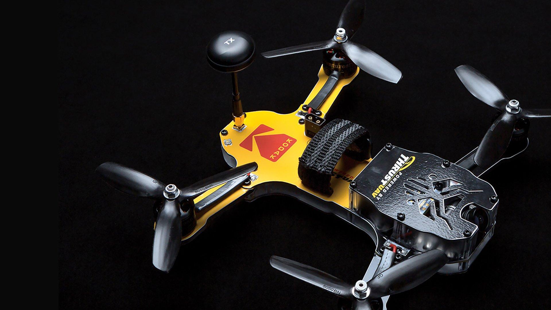 Kodak logo drone