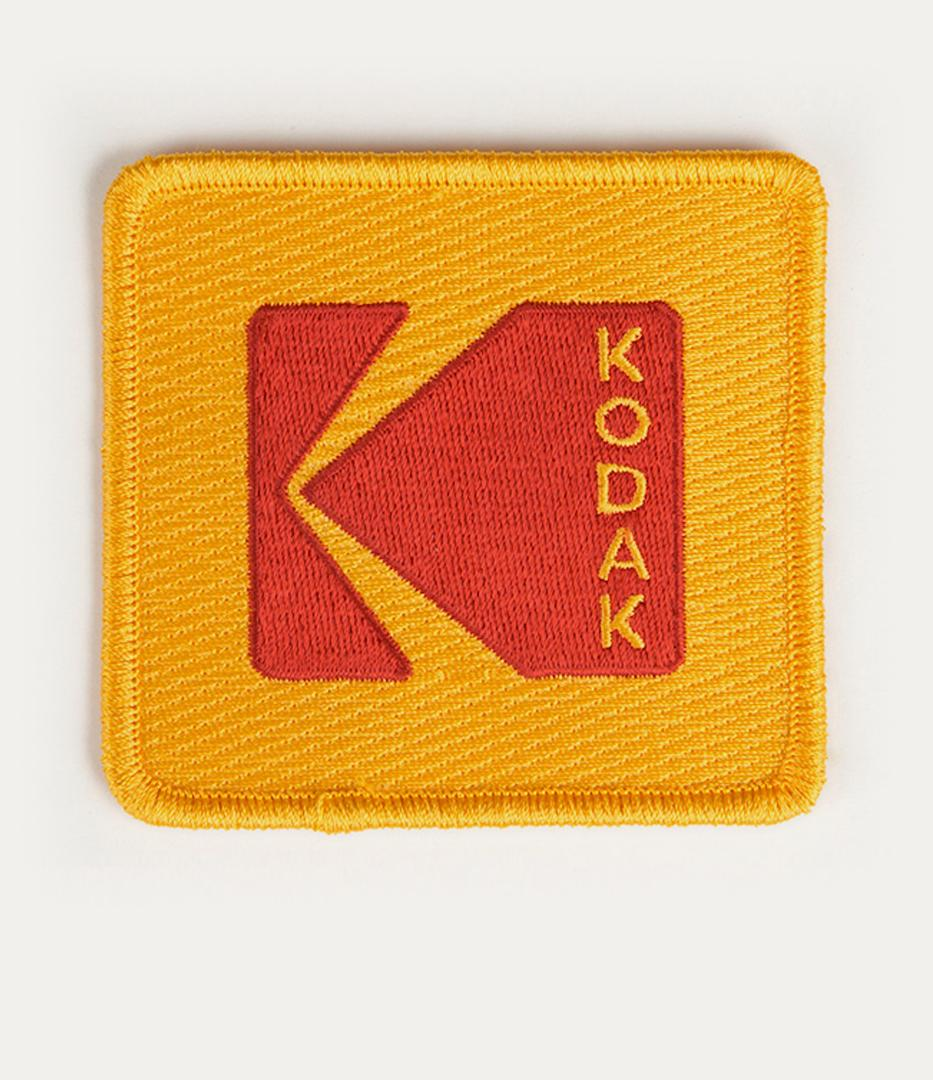 Kodak logo patch