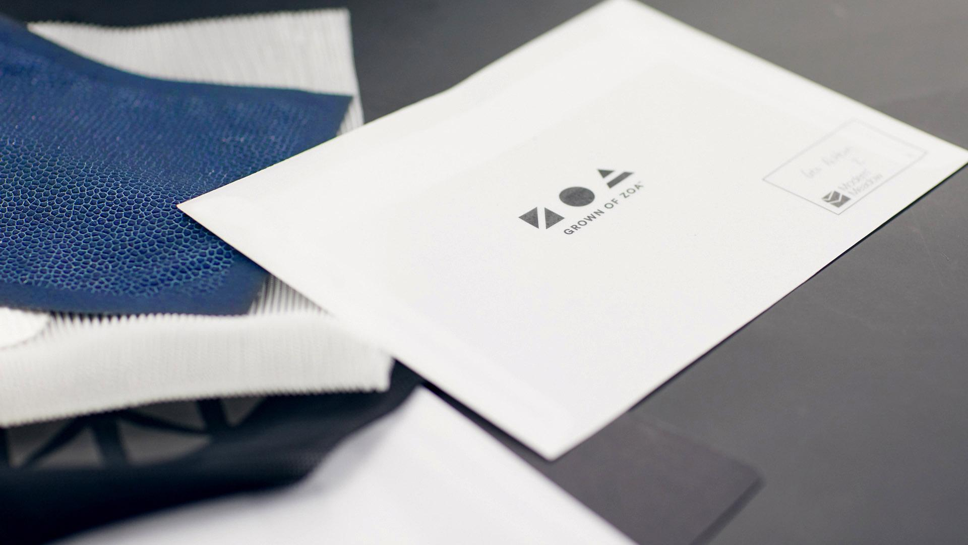 Zoa samples with logo