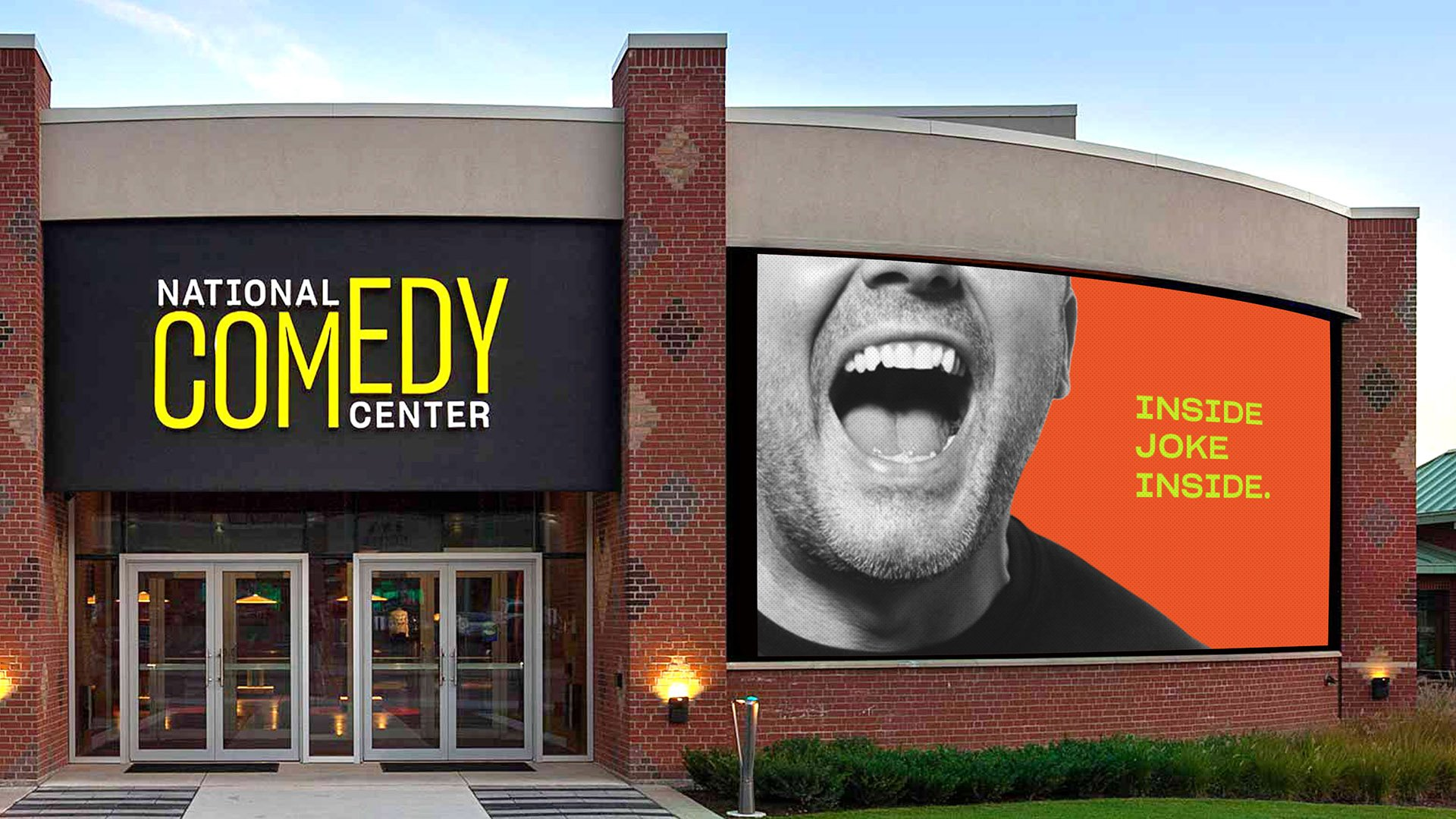National Comedy Center entrance