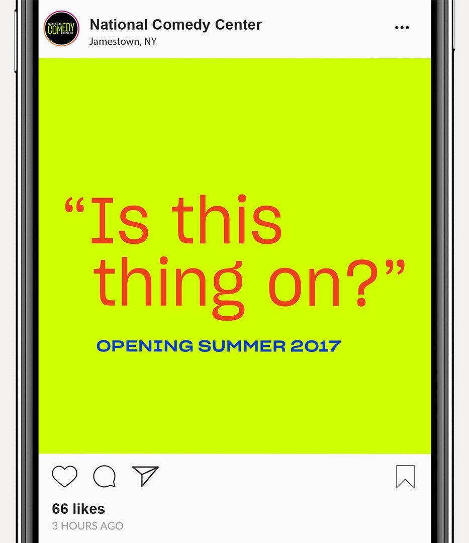 National Comedy Center instagram