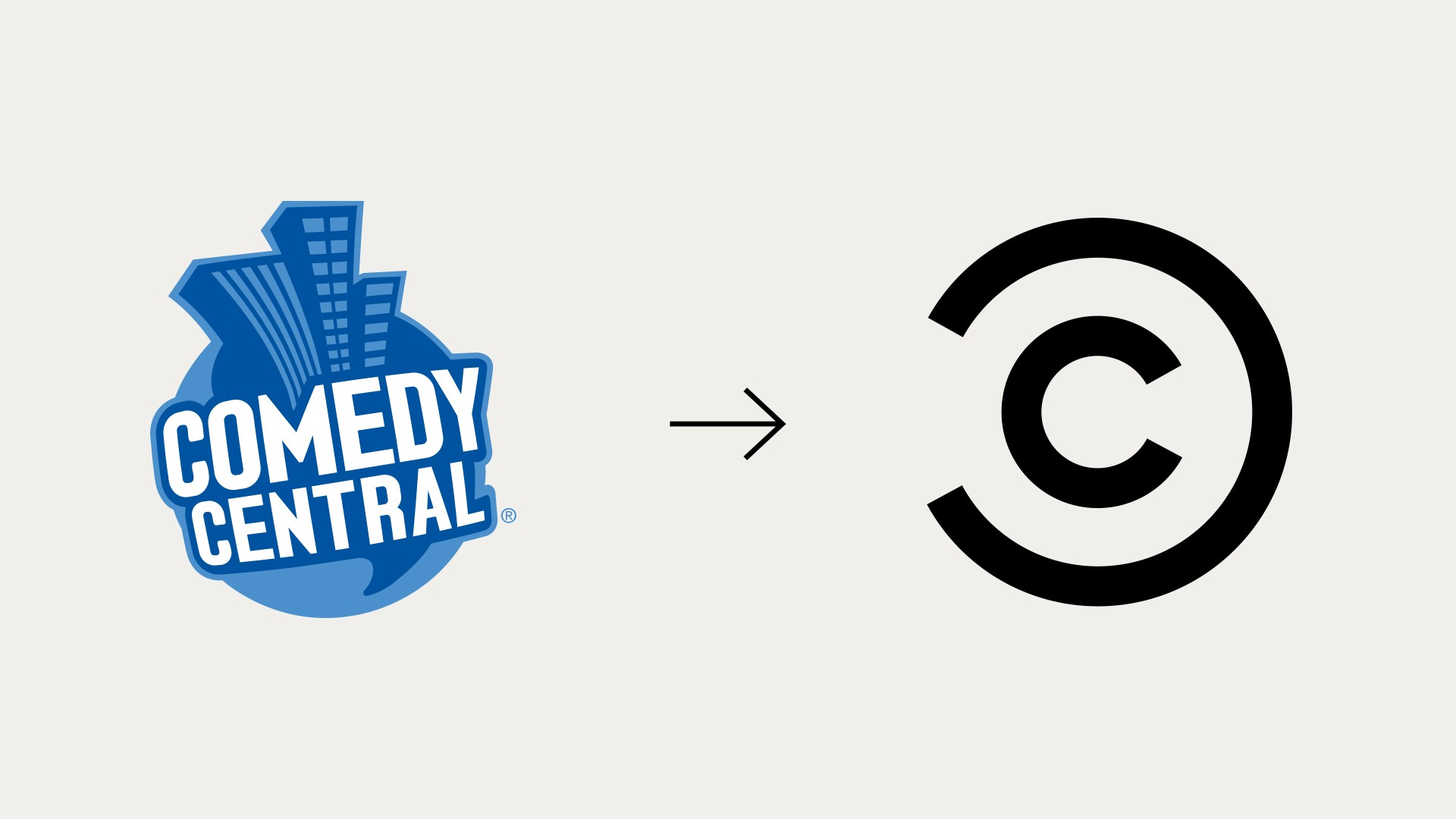 Comedy Central logo evolution