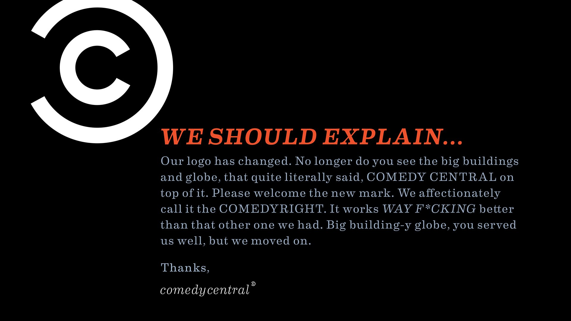 Comedy Central brand voice