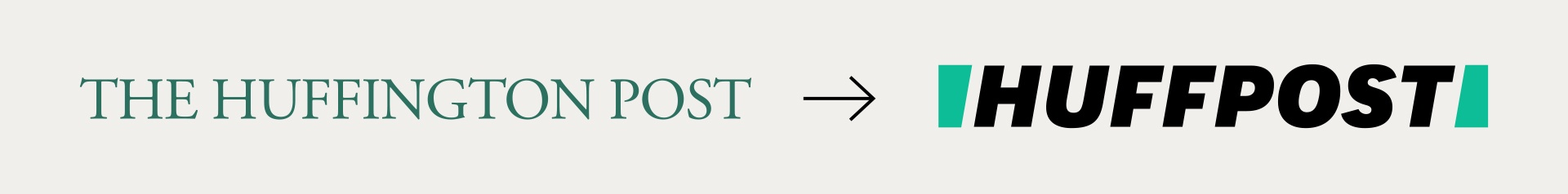 HuffPost logo before after