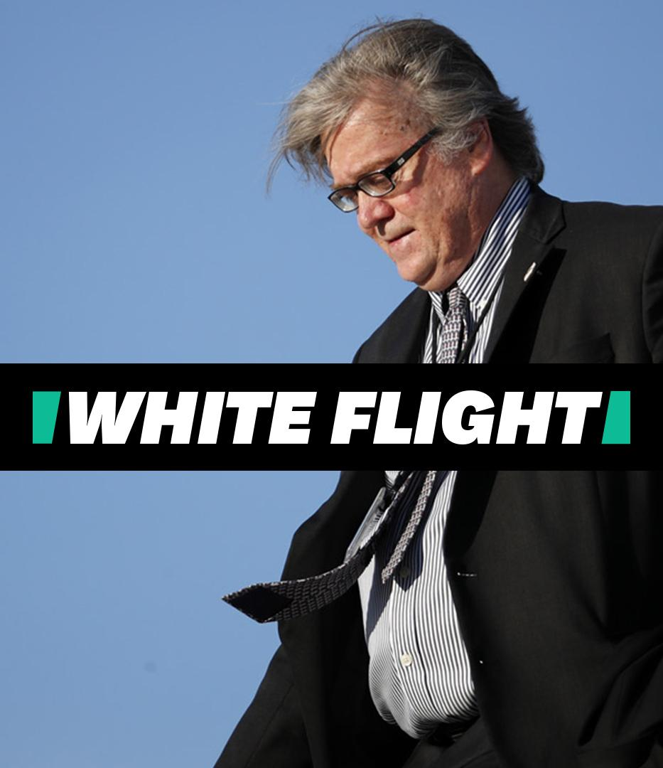 HuffPost logo White Flight