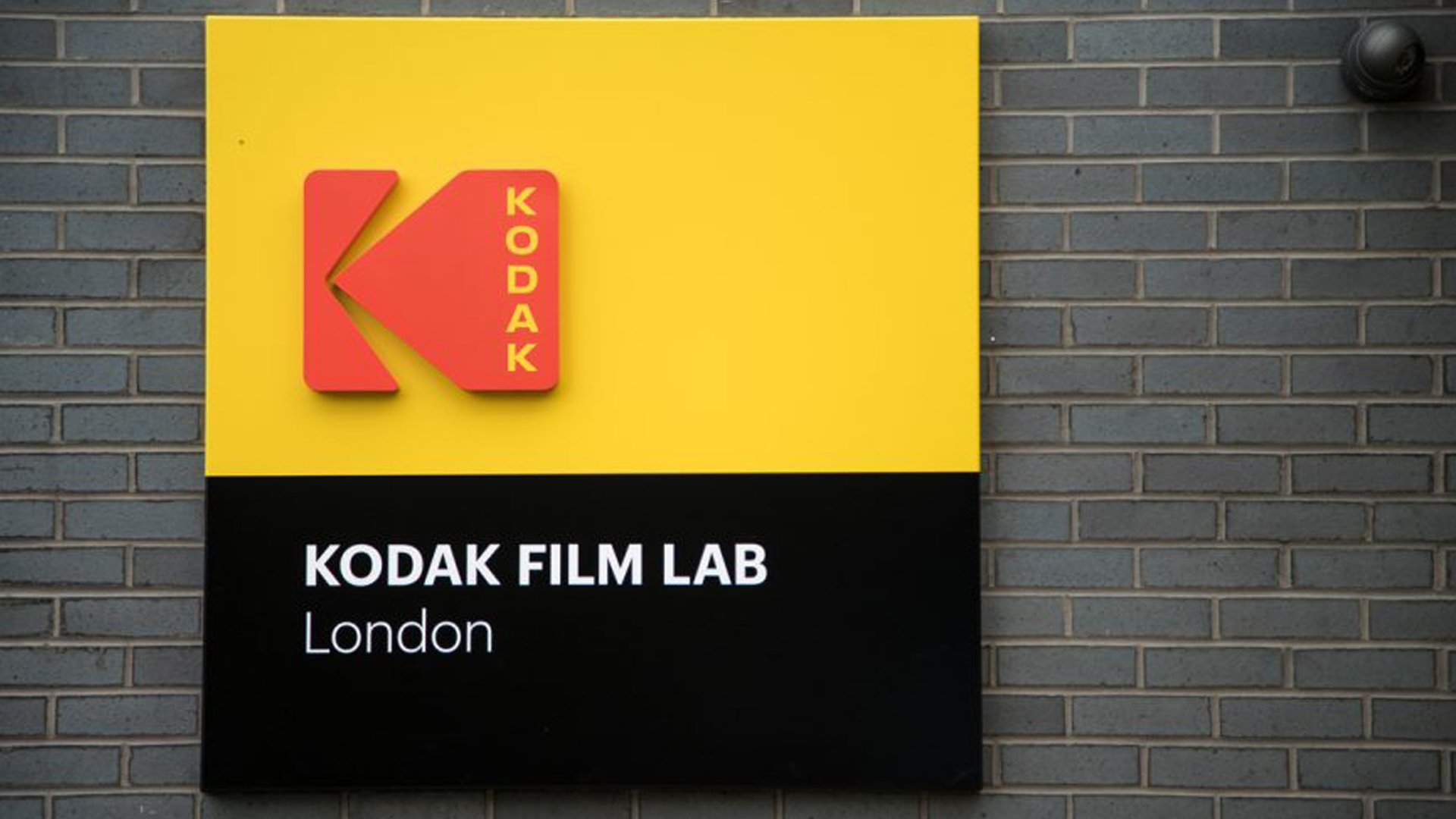 Kodak logo film lab sign
