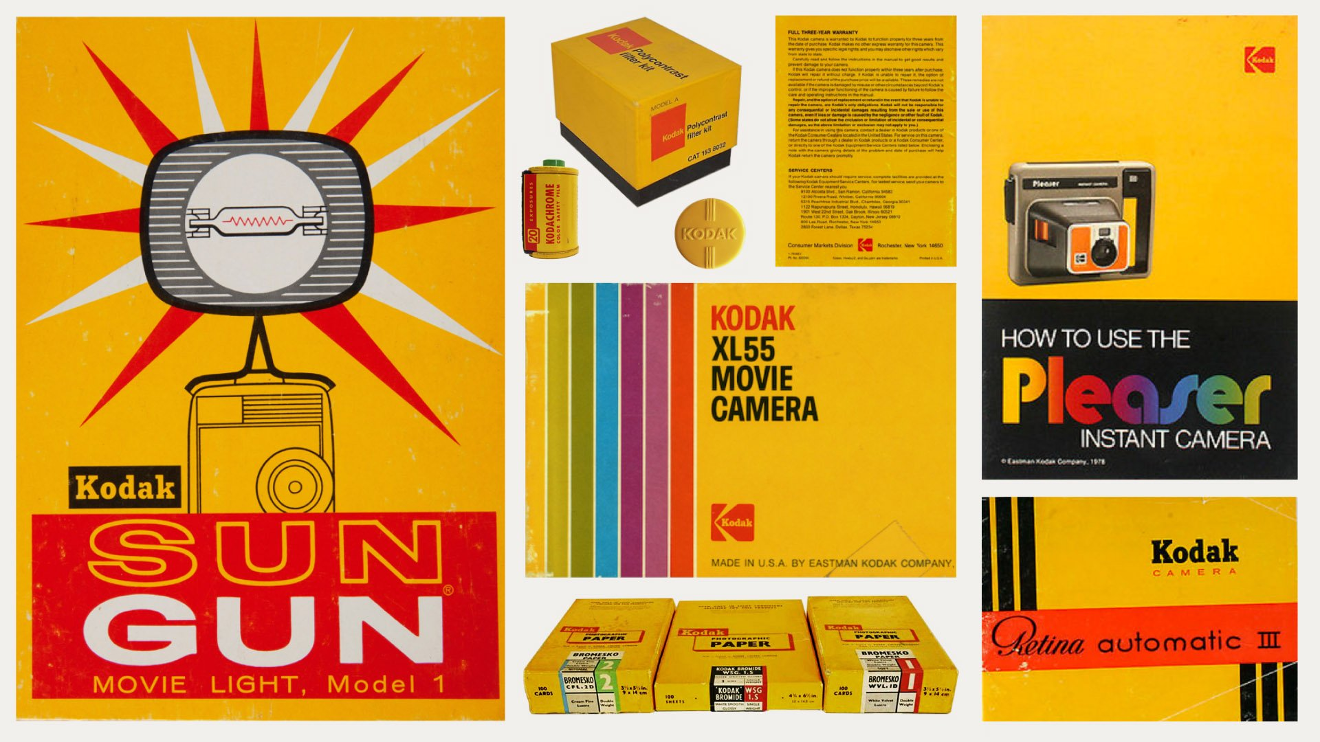 Kodak branding yellow