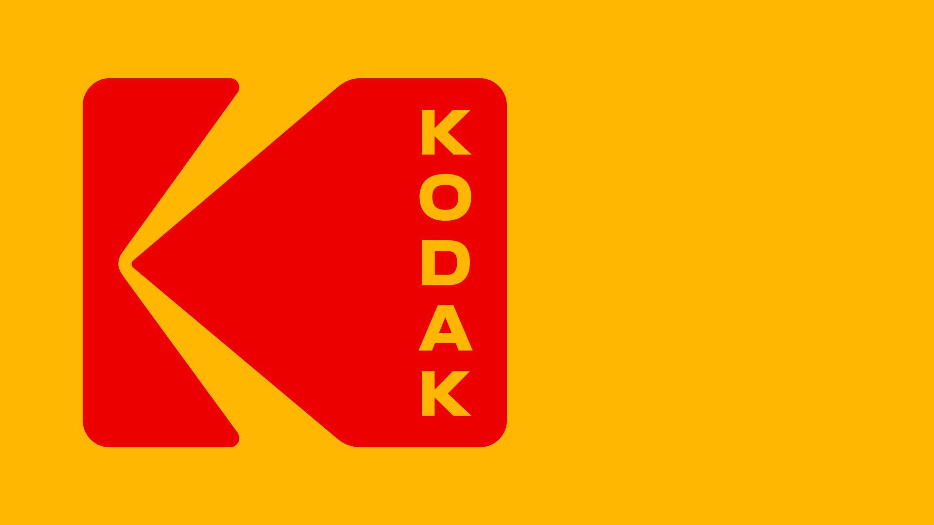 Kodak logo branding