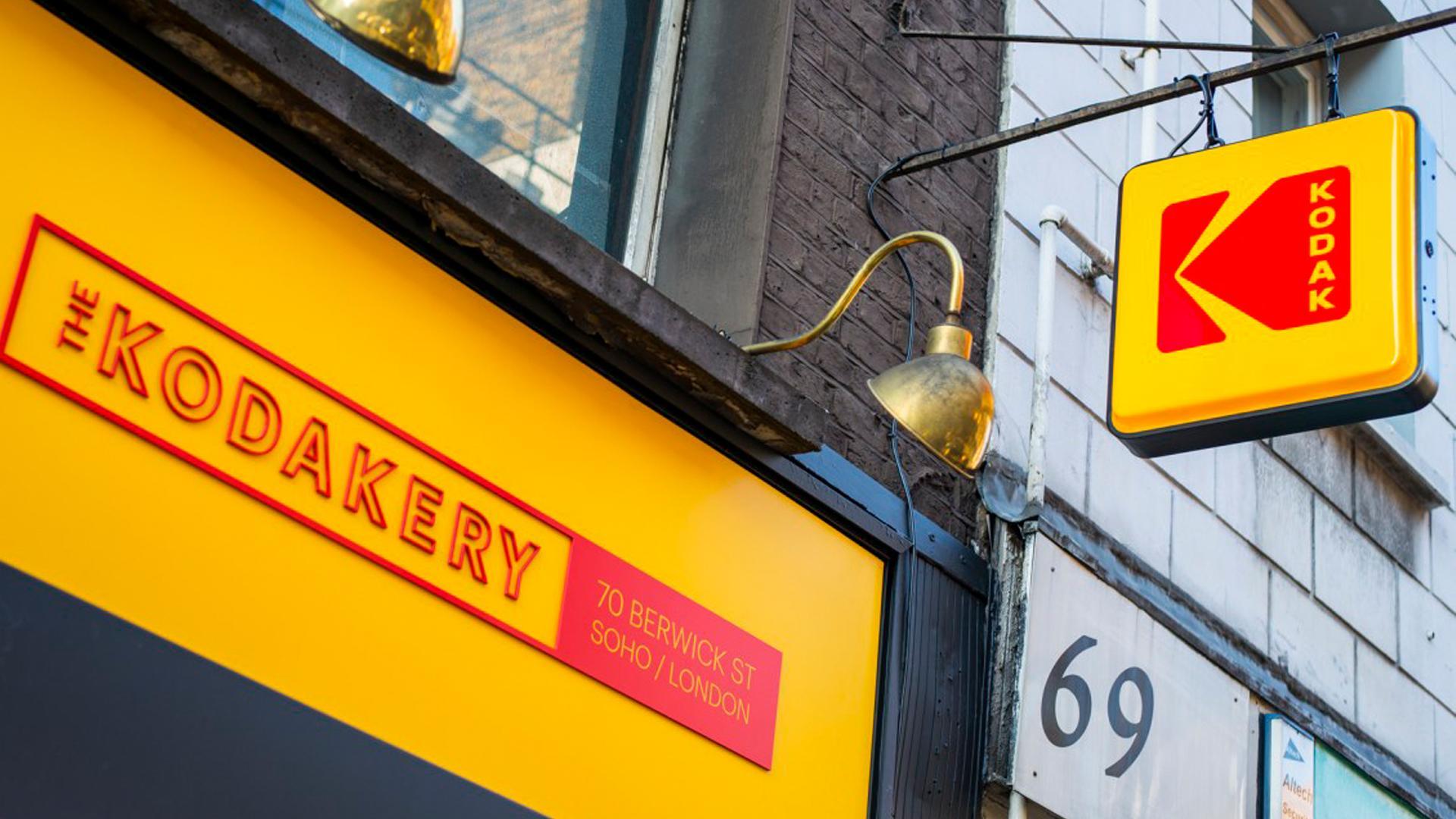 Kodak logo sign the Kodakery