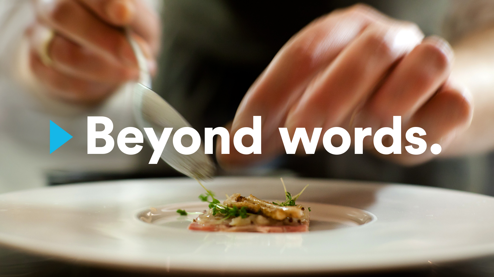 New York Times Beyond Words Campaign cooking ad