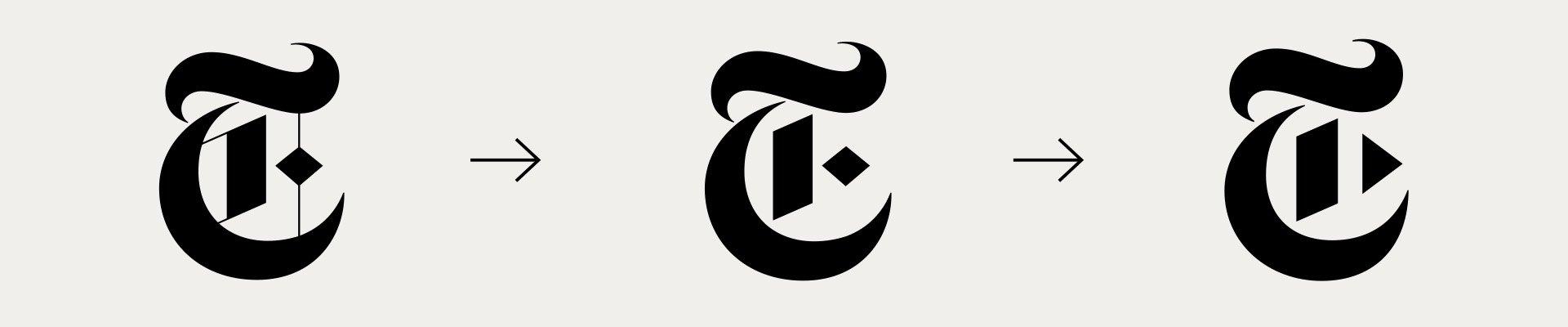 New York Times video branding logo evolution
