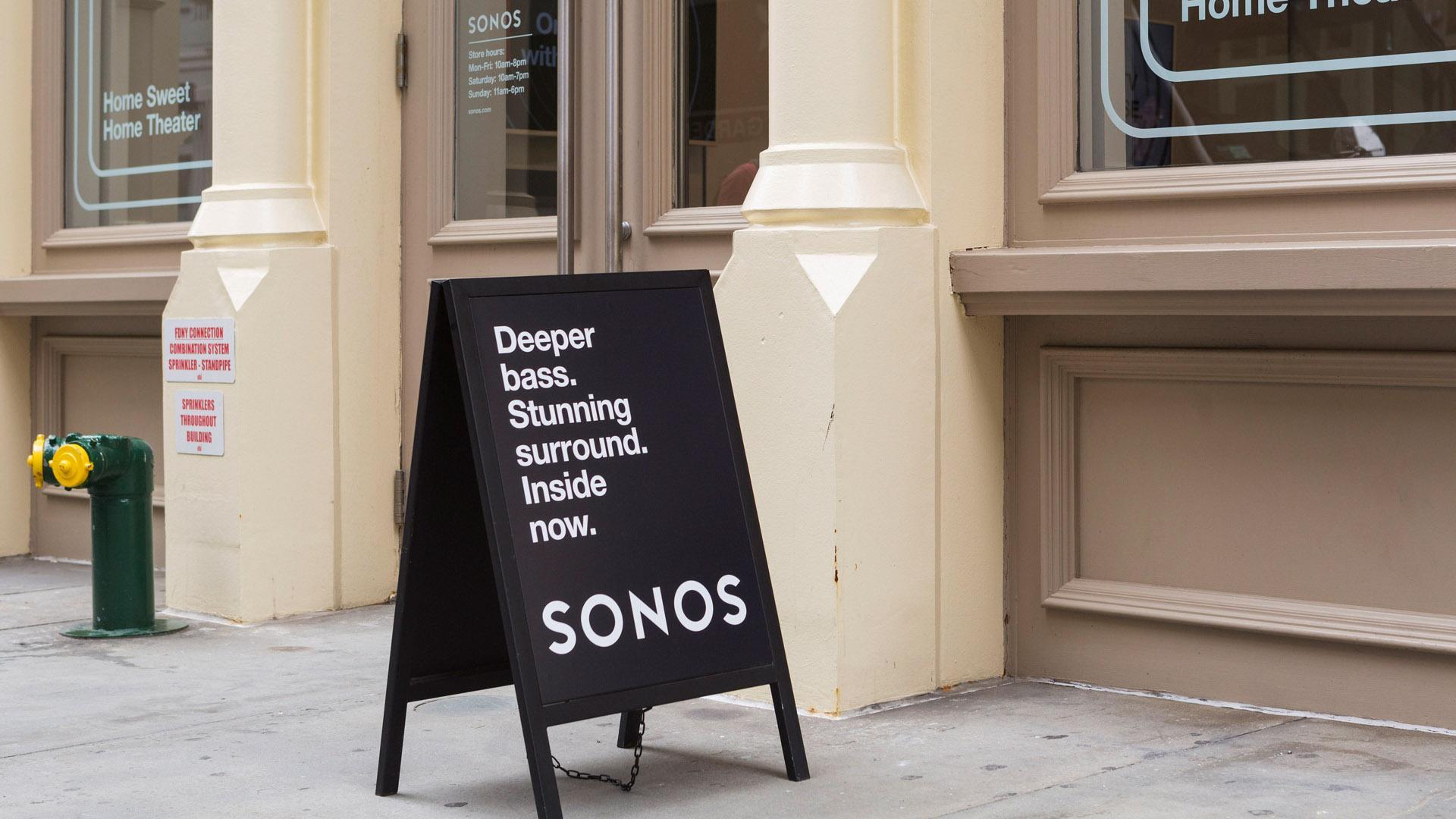 Sonos signage