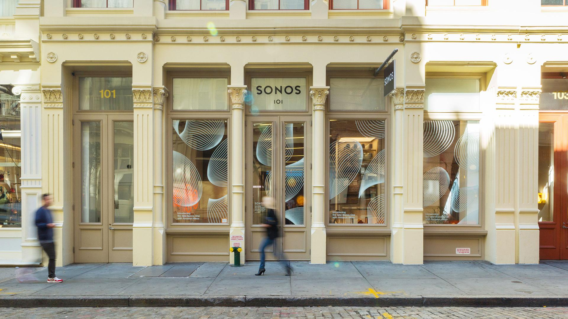 Sonos soho environmental design window