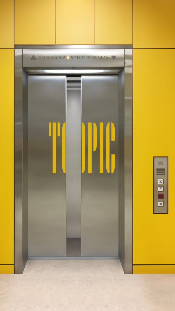 Topic logo elevator